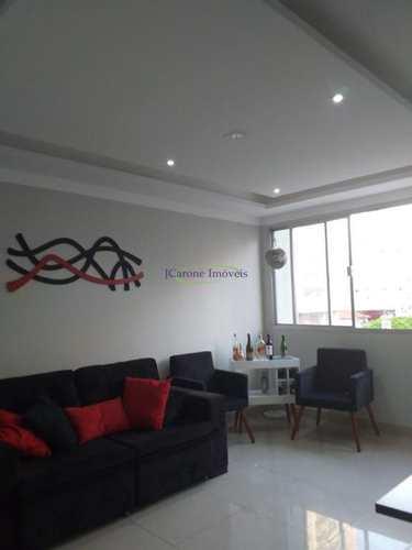 Apartamento, código 64088019 em Santos, bairro Boqueirão