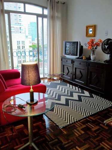Apartamento, código 64081072 em Santos, bairro Boqueirão