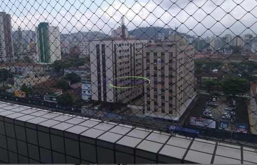 Apartamento, código 63801401 em Santos, bairro Boqueirão