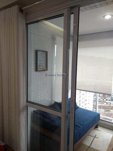 Apartamento, código 63743656 em Santos, bairro Pompéia