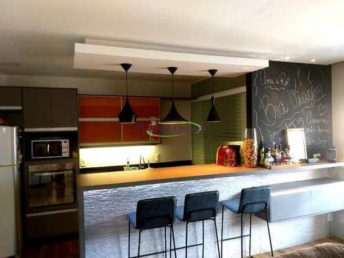 Apartamento, código 63654004 em Santos, bairro Pompéia
