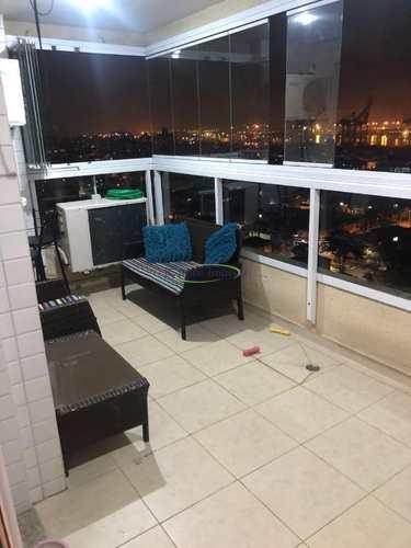 Apartamento, código 63473470 em Santos, bairro Ponta da Praia