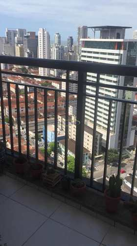 Apartamento, código 63410470 em Santos, bairro Gonzaga