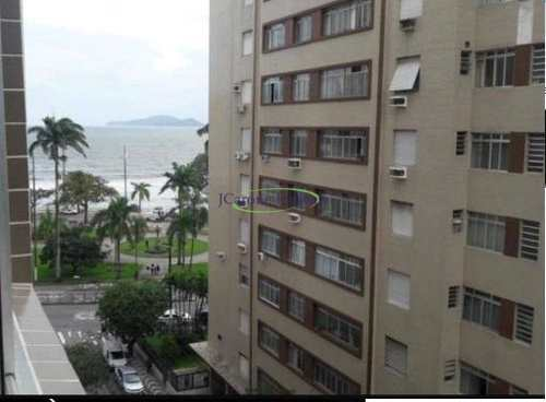Apartamento, código 62749777 em Santos, bairro Ponta da Praia