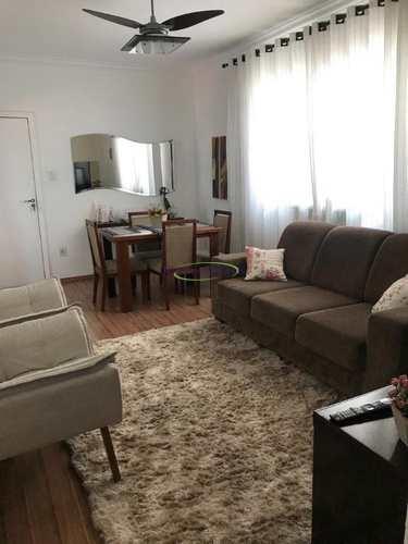 Apartamento, código 62581015 em Santos, bairro Gonzaga