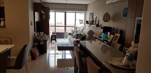 Apartamento, código 62308150 em Santos, bairro Aparecida
