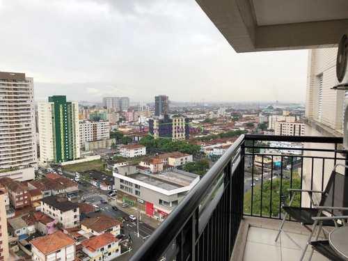 Apartamento, código 62061647 em Santos, bairro Gonzaga