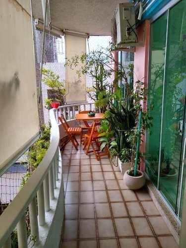 Apartamento, código 62177680 em Santos, bairro Ponta da Praia