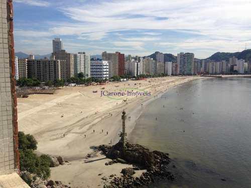 Apartamento, código 61764564 em São Vicente, bairro Morro dos Barbosas