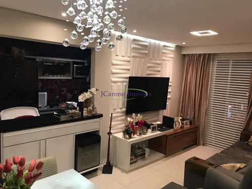 Apartamento, código 61758260 em Santos, bairro Encruzilhada