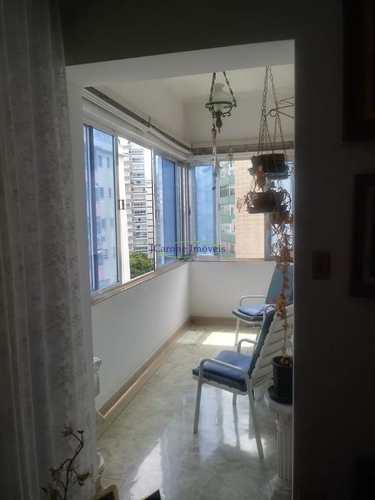 Apartamento, código 61116326 em Santos, bairro Boqueirão