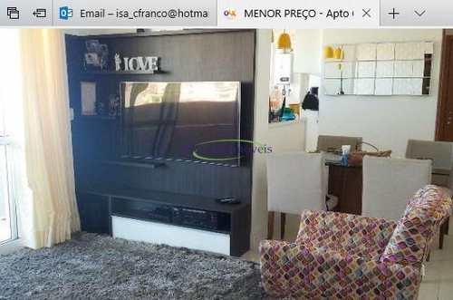 Apartamento, código 61013515 em Santos, bairro Gonzaga