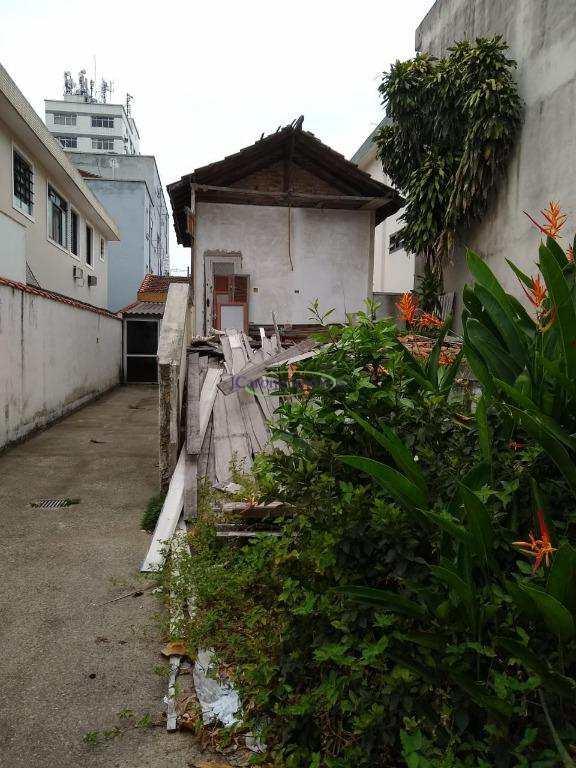 Terreno em Santos, no bairro Embaré