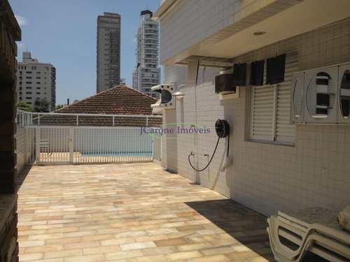 Apartamento, código 60903303 em Santos, bairro Gonzaga
