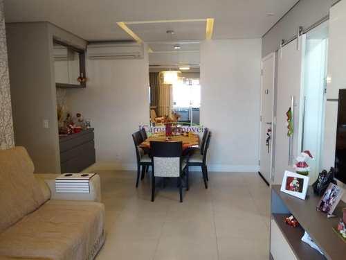 Apartamento, código 60524648 em Santos, bairro Pompéia