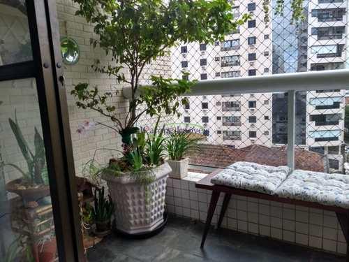 Apartamento, código 60450393 em Santos, bairro Boqueirão
