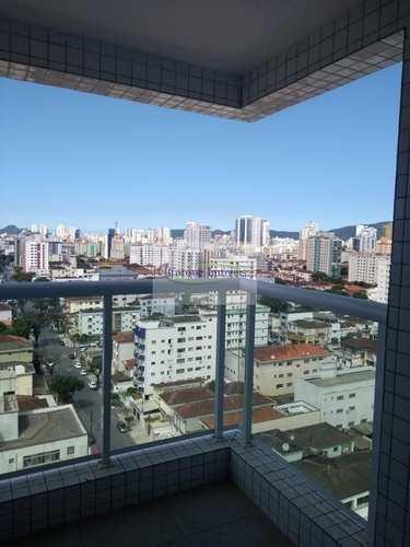 Apartamento, código 60372575 em Santos, bairro Embaré