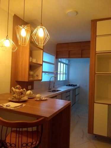 Apartamento, código 60330879 em Santos, bairro Gonzaga