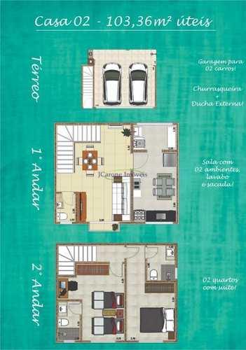 Casa, código 60293132 em Santos, bairro Macuco