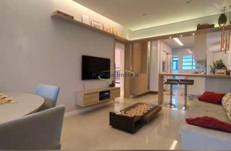 Apartamento, código 60209302 em Santos, bairro Boqueirão