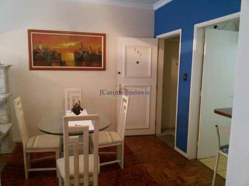 Apartamento, código 60205914 em Santos, bairro Gonzaga