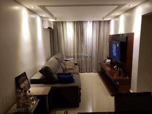 Apartamento, código 64152225 em Santos, bairro Aparecida