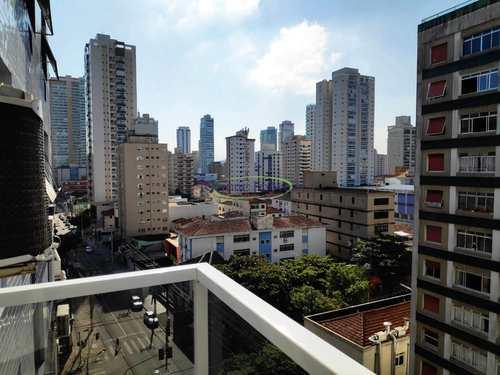 Apartamento, código 64152239 em Santos, bairro Embaré