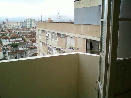 Apartamento, código 64152243 em Santos, bairro Boqueirão