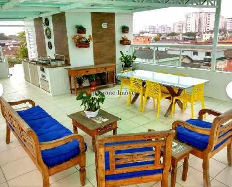 Casa, código 64152315 em Santos, bairro Macuco
