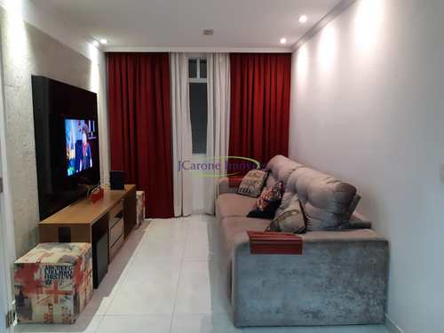 Apartamento, código 64152316 em Santos, bairro Estuário