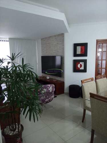 Apartamento, código 64152340 em Santos, bairro Boqueirão
