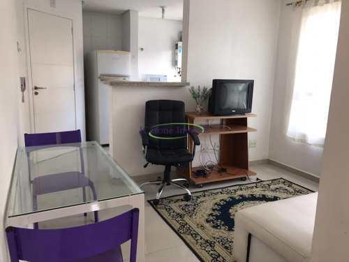 Apartamento, código 64152390 em Santos, bairro Boqueirão