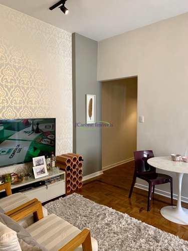 Apartamento, código 64152519 em Santos, bairro Ponta da Praia