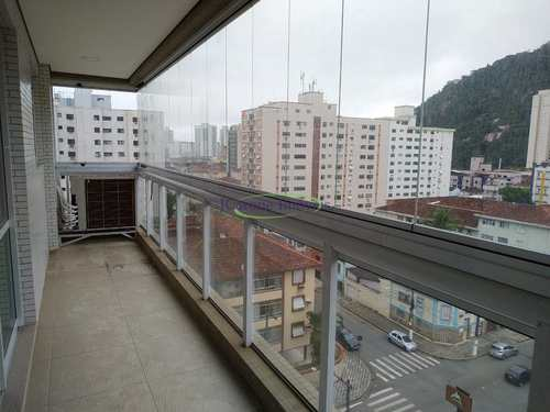 Apartamento, código 64152554 em Santos, bairro Marapé