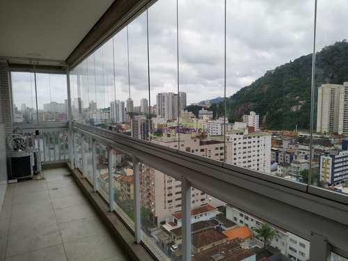 Apartamento, código 64152565 em Santos, bairro Marapé