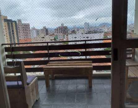 Apartamento, código 64152595 em Santos, bairro Boqueirão