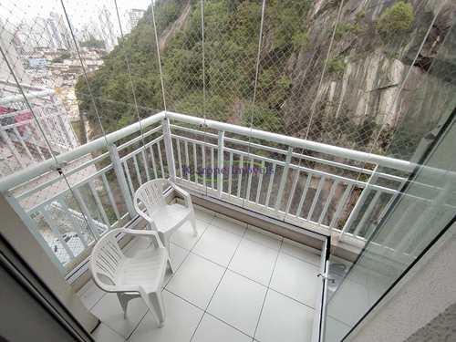 Apartamento, código 64152613 em Santos, bairro Marapé
