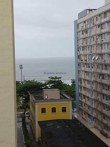 Apartamento, código 64152623 em Santos, bairro Boqueirão