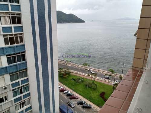 Apartamento, código 64152670 em Santos, bairro Ponta da Praia