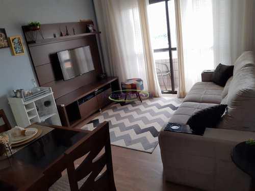 Apartamento, código 64152688 em Santos, bairro Embaré