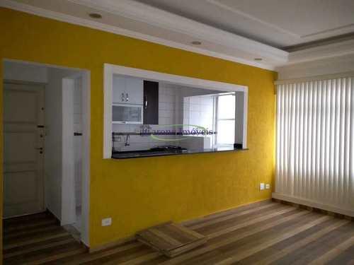 Apartamento, código 64152696 em Santos, bairro Boqueirão