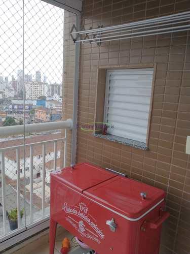 Apartamento, código 64152698 em Santos, bairro Estuário