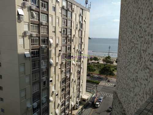 Apartamento, código 64152749 em Santos, bairro Aparecida