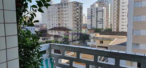 Apartamento, código 64152780 em Santos, bairro Boqueirão