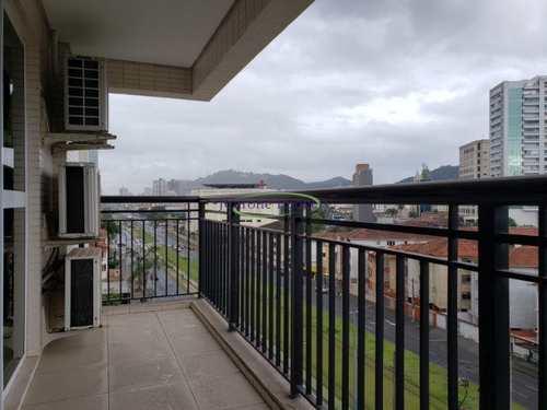Apartamento, código 64152794 em Santos, bairro Gonzaga