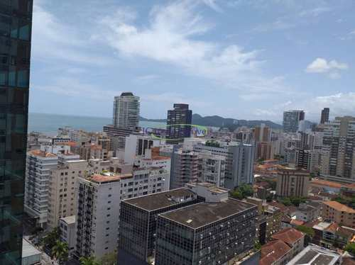Apartamento, código 64152810 em Santos, bairro Gonzaga
