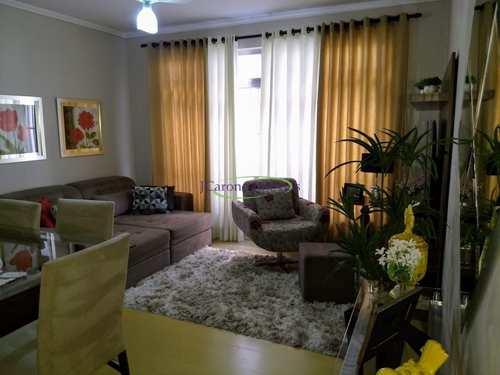 Apartamento, código 64152825 em Santos, bairro Boqueirão