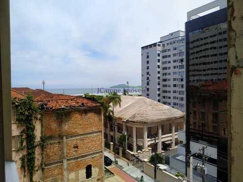 Apartamento, código 64152841 em Santos, bairro Gonzaga