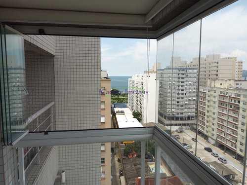 Apartamento, código 64152860 em Santos, bairro Embaré