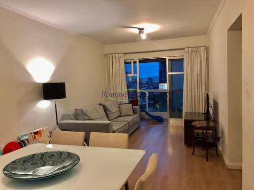 Apartamento, código 64152897 em Santos, bairro Boqueirão